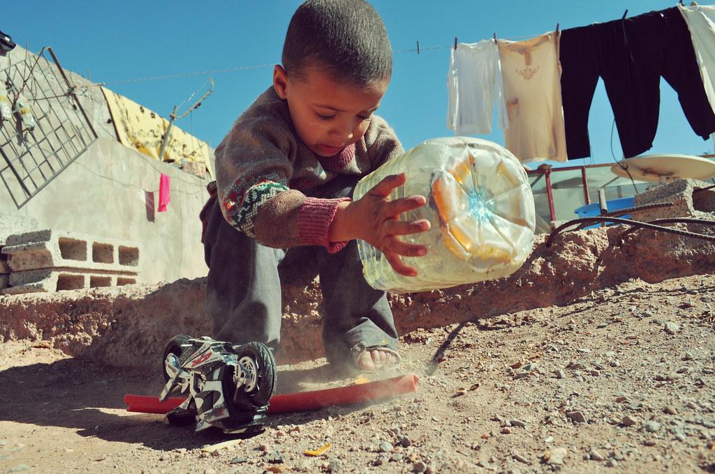 Child playing