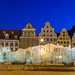 A chilly fountain to relax by in the warm Wroclaw summer night, Poland by Maria_Globetrotter
