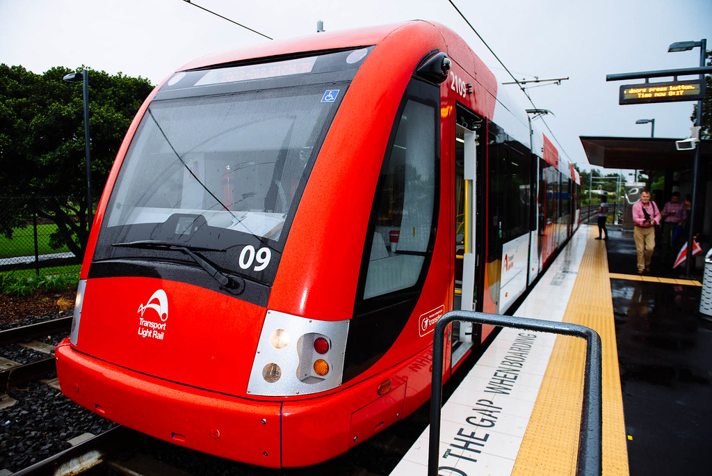 CAF Light Rail Vehicle 2109 by my happy snapper