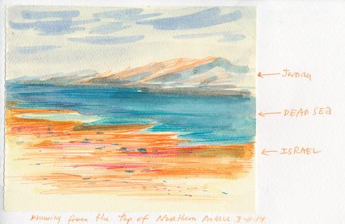 March 2014: Israel - Dead Sea - Masada