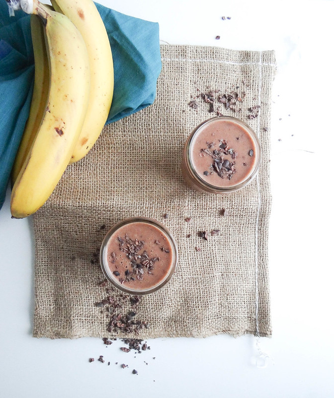 pb coco banana smoothie