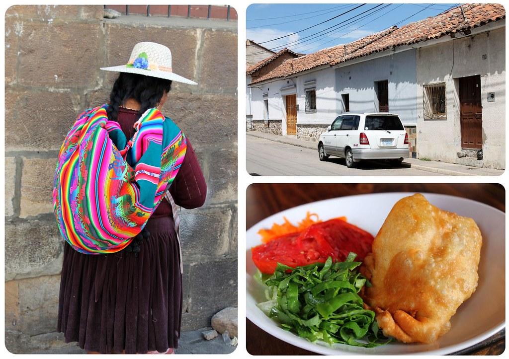In Sucre Bolivia