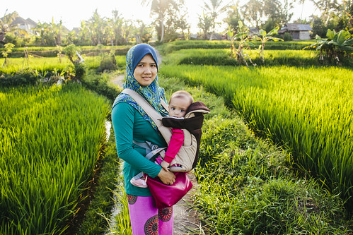 Traveling Family | Penestanan Rice Field | Ubud | Bali | Indonesia