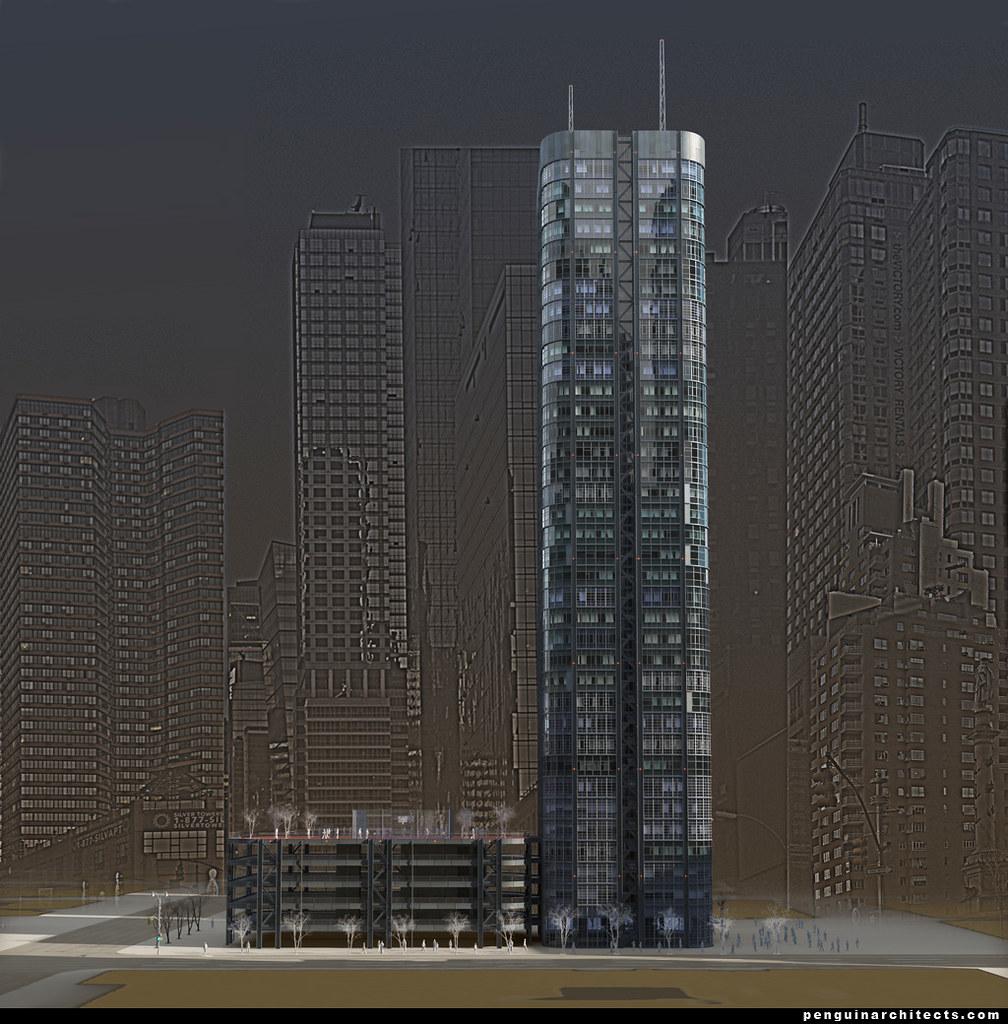 Living cities - Residental Towers for 21 century  v02