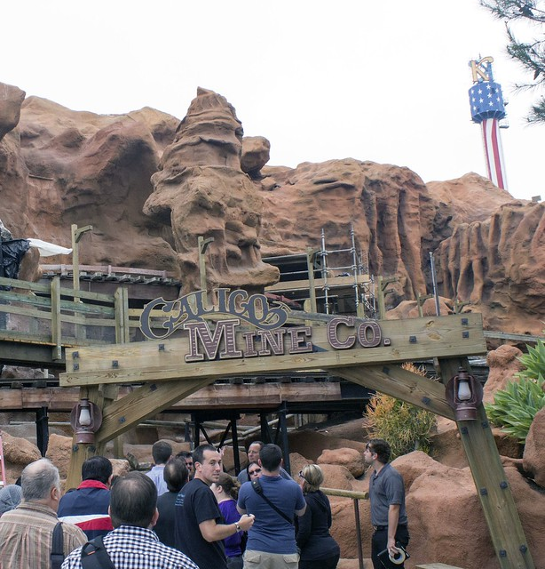 Calico Mine Train ride changes