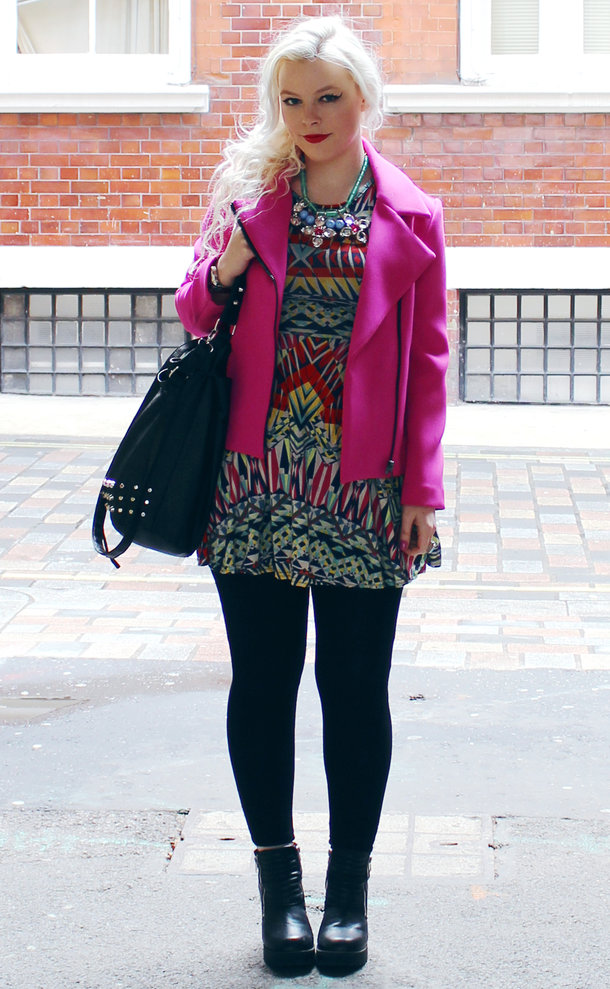 OOTD: Kaleidoscopic