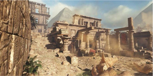 CoD Ghosts- Invasion DLC - Pharaoh Map