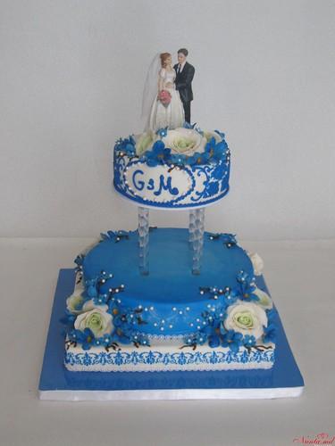 Cu TORT DE LUX sarbătoarea ta capătă culori frumoase ! > Foto din galeria `torte de nunta`
