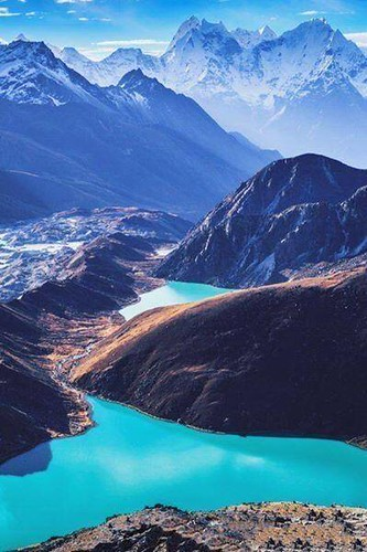 Gokyo Lakes #Nepal #travel via World Travel