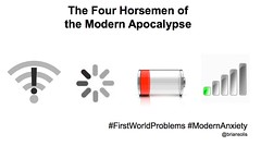 The Four Horsemen of the Modern Apocalypse