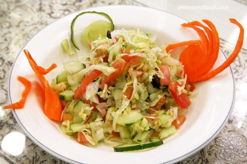 dubai restaurant itaewon arabian salad
