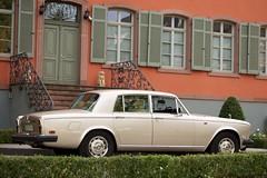 automobile, family car, vehicle, rolls-royce silver shadow, rolls-royce corniche, bentley t-series, compact car, antique car, sedan, classic car, vintage car, land vehicle, luxury vehicle,
