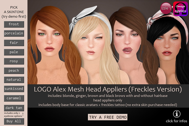 LOGO Alex Appliers (Tiggi Freckles Versions)
