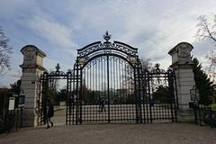 Main entrance @ Jardin des Serres d'Auteuil @ Paris 16