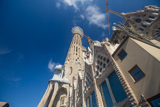Bild av Basilica de la Sagrada Família nära Gràcia. barcellona2017 barcelona2017 barcellona barcelona sagradafamilia catalunya spain es
