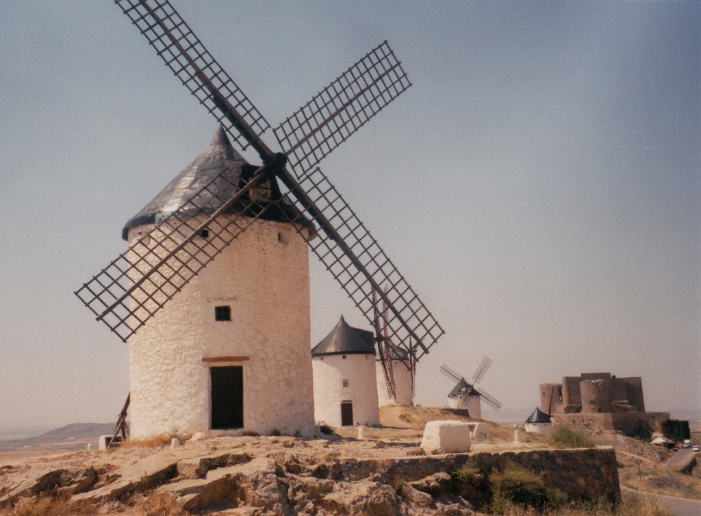 Spain_Toledo-Don Quixote Windmill