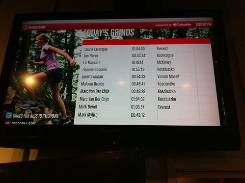 Did the Grouse Grind twice this afternoon, it's very addictive