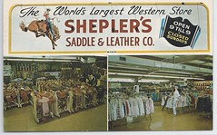 U. S. Jewish Wichita Kansas Shepler's Saddle and Leather Co. 111
