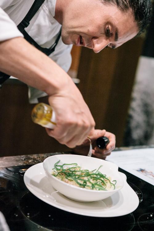 Colin Fassnidge - Jerusalem Artichoke & Macadamia Soup