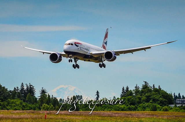 British Airways 2nd Boeing 787 Dreamliner