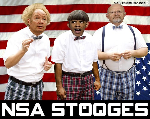 NSA STOOGES by WilliamBanzai7/Colonel Flick