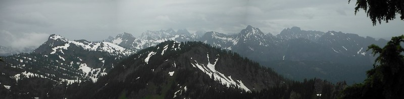 Mount Margaret Summit Pano