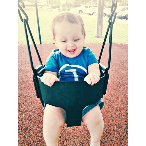 Happy Will at the park this afternoon! #pictapgo_app #baby #babygram