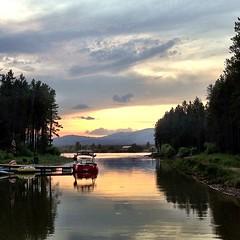 Island Park Reservoir.