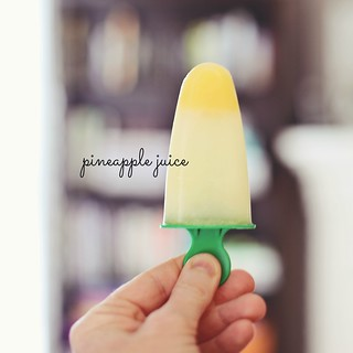home-made popsicles!