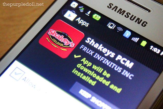 Shakey's PCM App