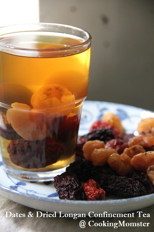 Dates & Dried Longan Confinement Tea