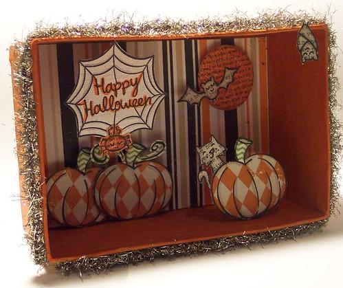 Halloween Shadowbox