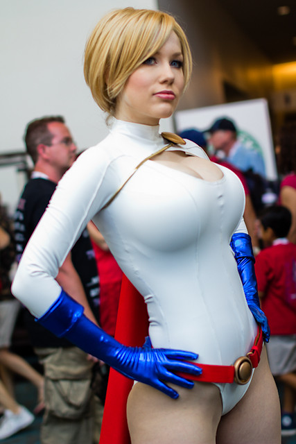 Comic-Con 2013  Crystal Graziano Power Girl  Complete San   Flickr - Photo Sharing