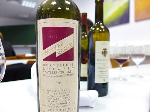 1993 Dornfelder Weingut Gutzler