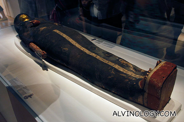 A coffin of a young lady who was a singer before her death