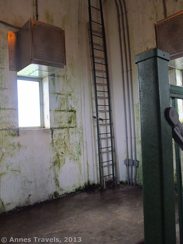 The room at the top of the High Point Monument, High Point State Park, New Jersey