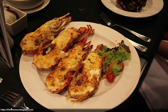 Spices Cafe - Lobsters with Cheese