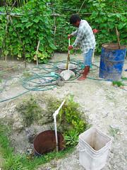 Irrigation pump, Kiribati