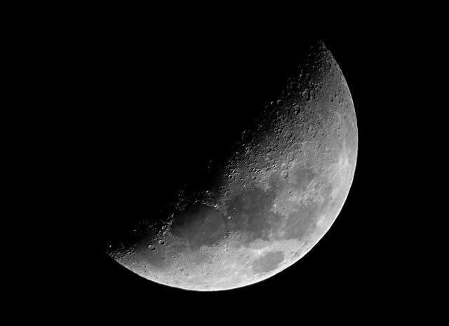 Luna creciente de agosto Estamos en luna menguante
