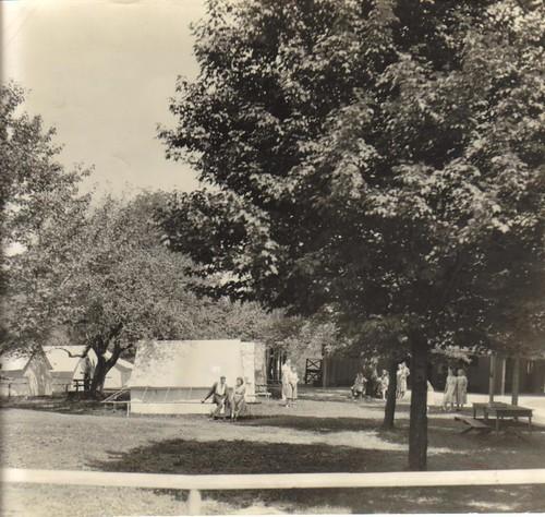 tent colony 1918