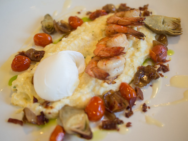 Blue Door - Shrimp & Grits | Flickr - Photo Sharing!