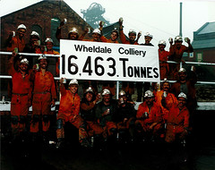 Wheldale Colliery 16463 Tonnes ©Crown Copyright
