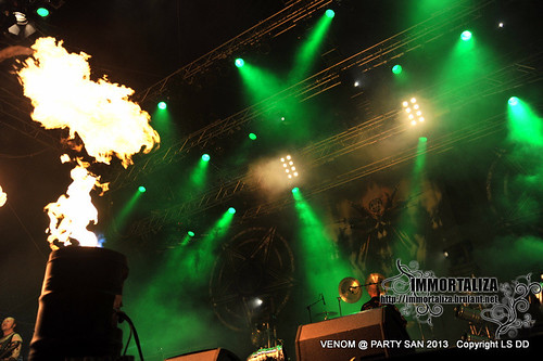 VENOM @ PARTY SAN OPEN AIR 2013 SCHLOTHEIM, Germany 9621211173_4c2b6b36b7