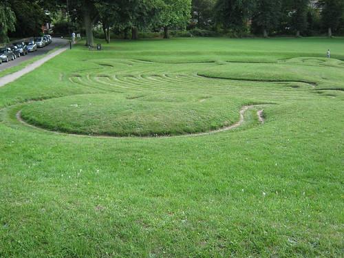 Maze at Saffron Walden