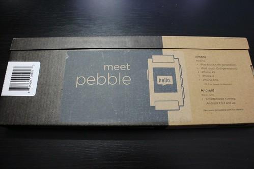 Pebbleパッケージ外箱