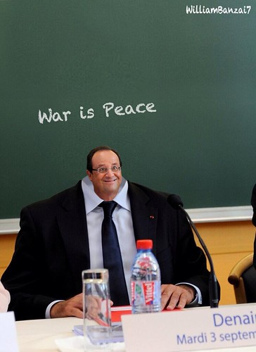 SCHOOL DAY HOLLANDE by WilliamBanzai7/Colonel Flick