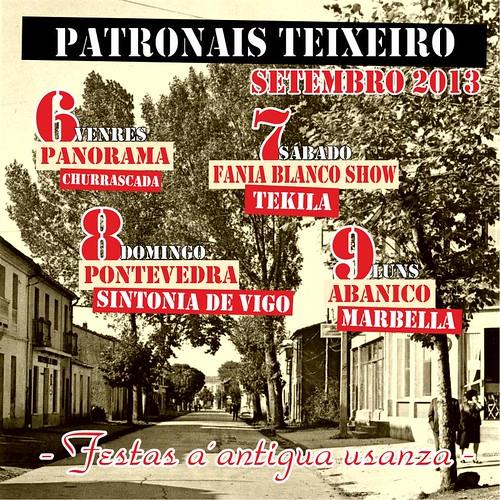 Curtis 2013 - Festas Patronais de Teixeiro - cartel