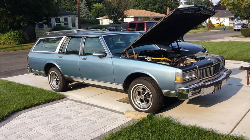 My '89 Caprice Wagon Project 9720370662_04b400751b_c