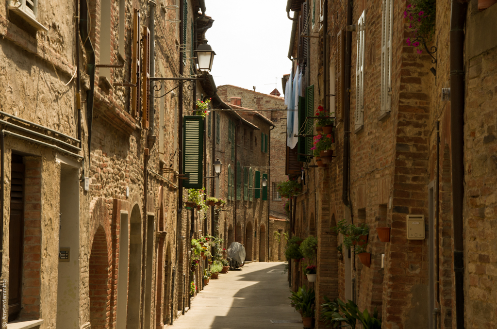 Italy, Street in Città della Pieve