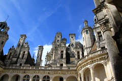 Chimneys at Château de Chambord